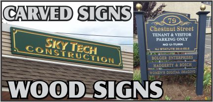 Carved Signs NJ